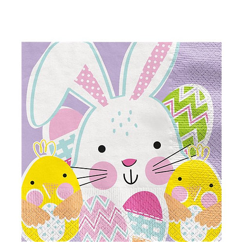 Lilac Easter Party Napkins