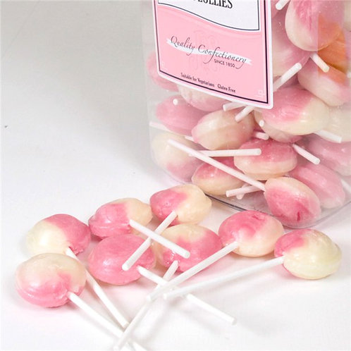 Marshmallow Pink Flavoured Lollies
