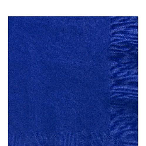 Royal Blue Party Napkins Size 33cm
