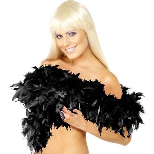 Deluxe Feather Boa Black