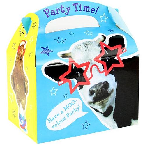 Farm Animal Party Boxes