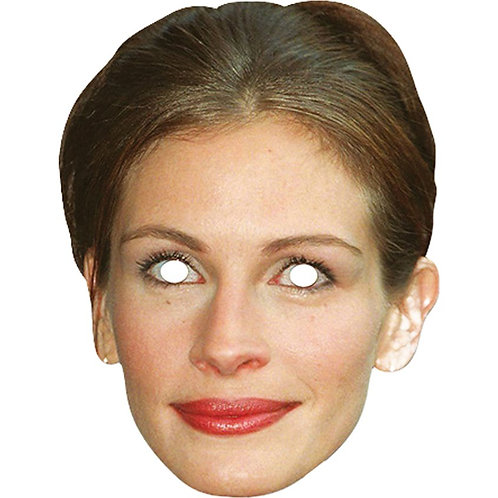 Celebrity Ladies Fancy Dress Masks Julia Roberts