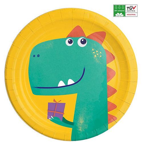 Dinosaur Roar Party Plates