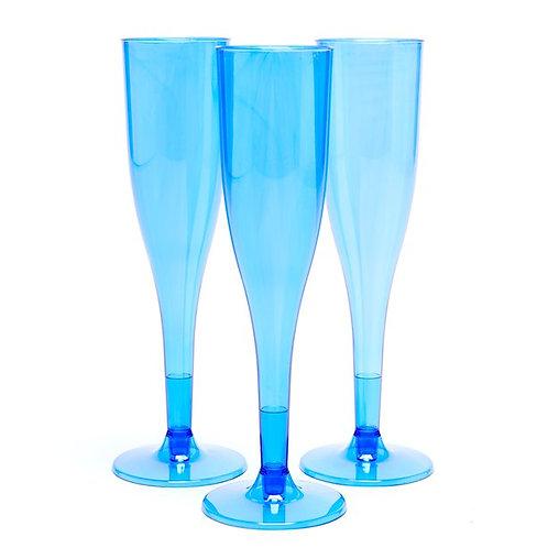 Royal Blue Champagne Flutes