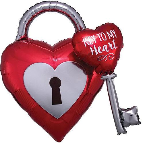 Key To My Heart Balloon