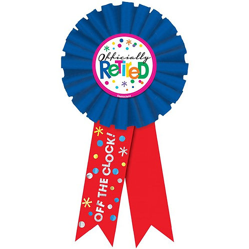 Happy Retirement Ribbon Award