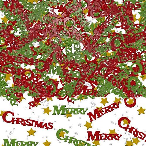 Merry Christmas Table Confetti