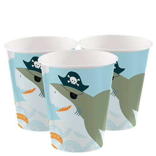 Pirate Ahoy Birthday Paper Party Cups