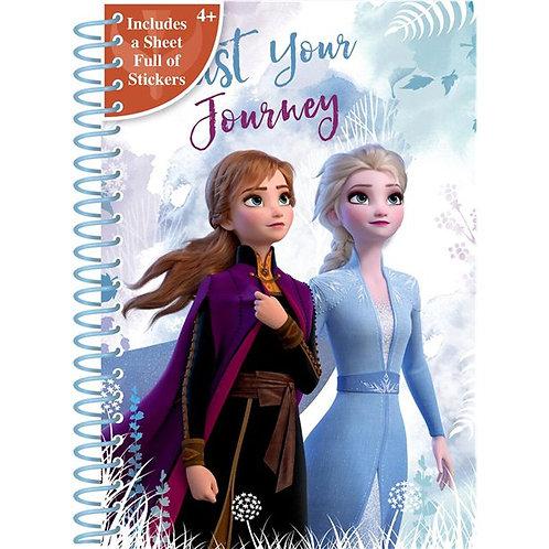 Childrens Frozen 2 A5 Notebook