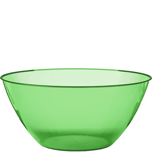 Plastic Serving Bowl Size 4.7L Lime Green