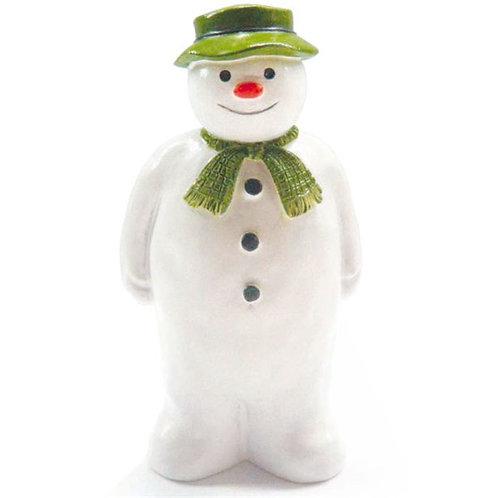 Snowman Resin Cake Figure