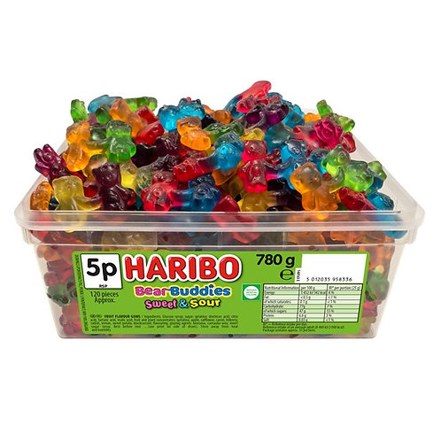 Haribo Bear Buddie Sweets