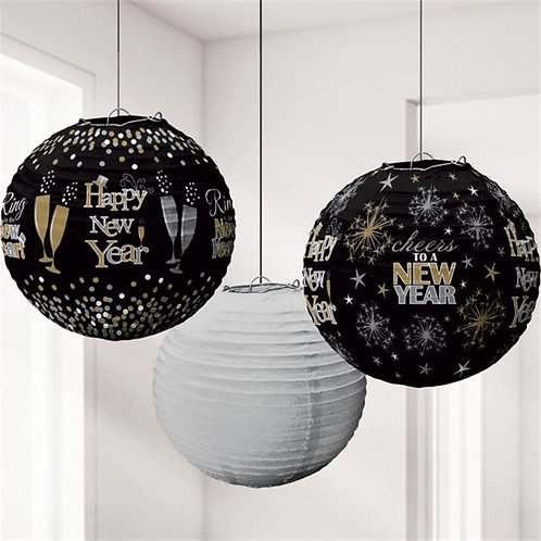 New Year's Eve Lantern Decorations