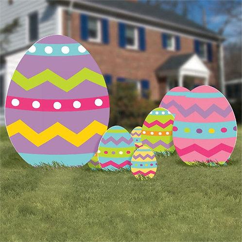 Easter Egg Yard Signs