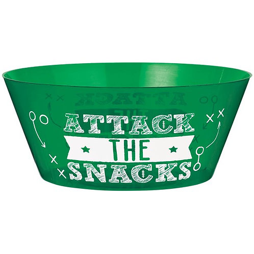 American Football Serving Party Bowl