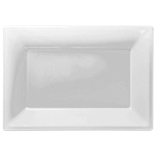 Food Serving Platter - White