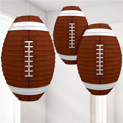 American Football Hanging Paper Lanterns