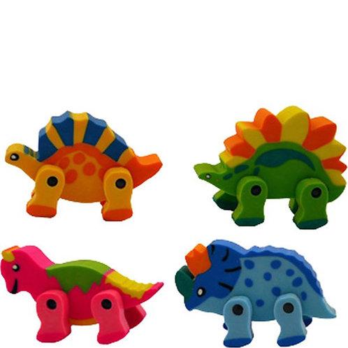 Dinosaur Rubbers