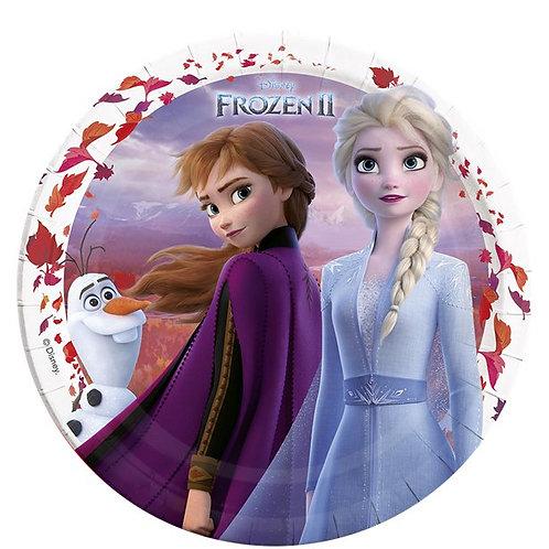 Disney Frozen 2 Paper Party Plates