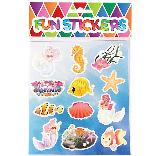 Mermaid Sticker Sheets