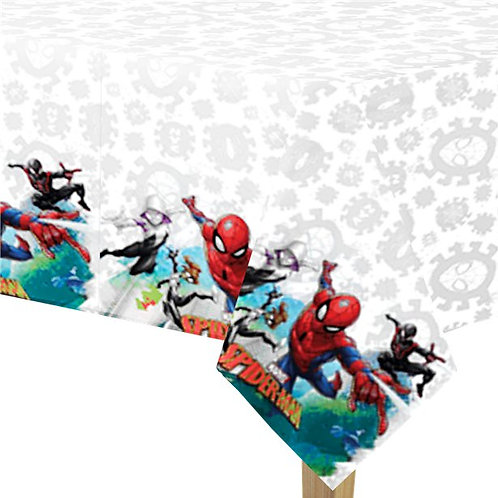 Children's Party Spiderman Plastic Tablecover