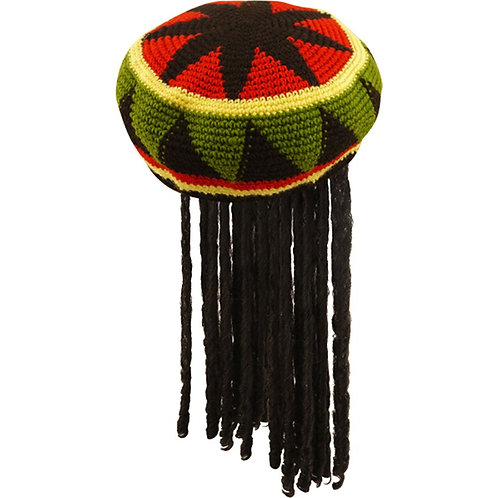 Adult Fancy Dress Reggae Hat