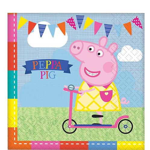 Children's Peppa And George Party Napkins