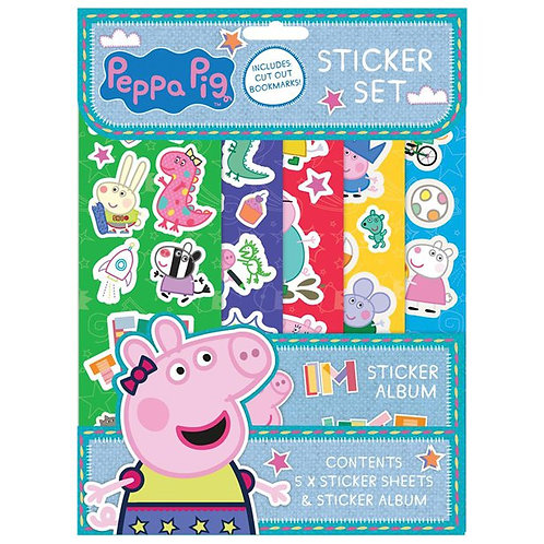 Peppa Pig Sticker Set. Party Favour Activity Set Kids