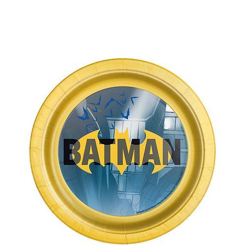 Batman Paper Plates