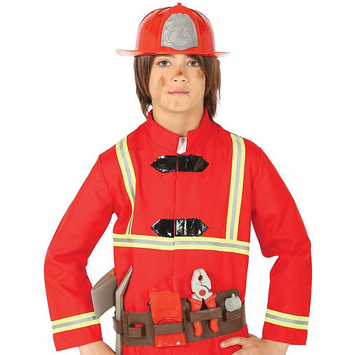 Fireman Belt & Helmet