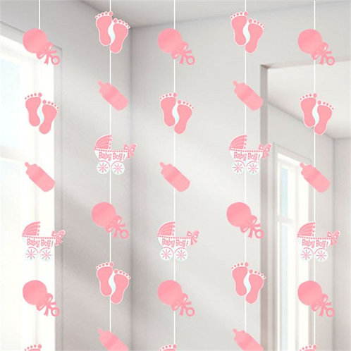Baby Girl Hanging String Decorations