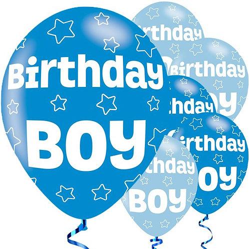 Birthday Boy Balloons
