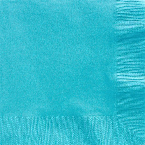 Turquoise Paper Napkins 40cm