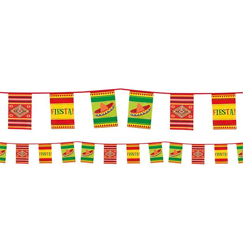 Mexican Fiesta Paper Bunting