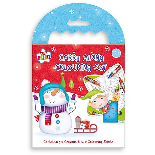Carry Along Colouring Set