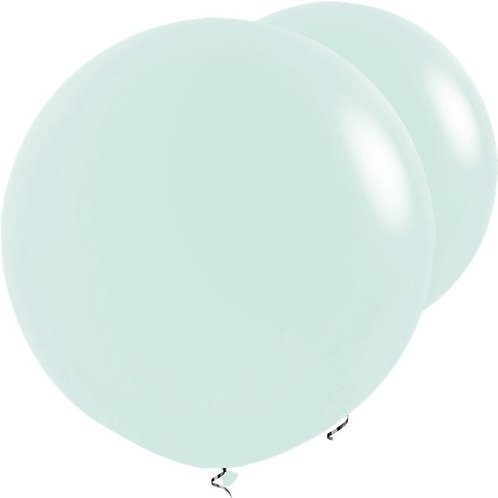 Giant Pastel Matte Green Balloons