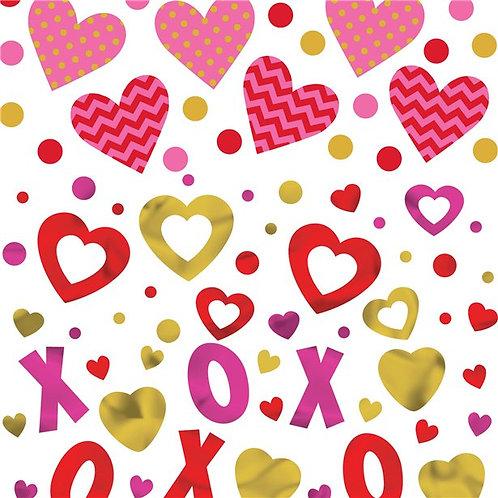 Valentines Table Confetti