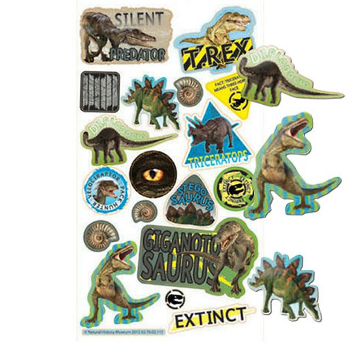 Dinosaur Party Stickers