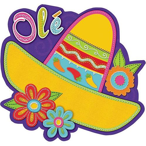Sombrero Cutout Decoration