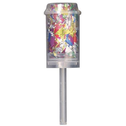 Confetti Multicoloured Push Popper