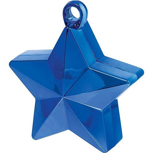 Blue Star Balloon Weight