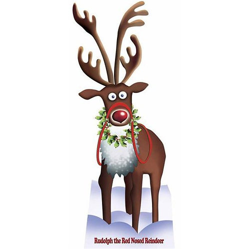 Rudolph Cardboard Cutout