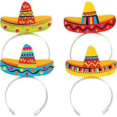 Mexican Sombrero Headbands