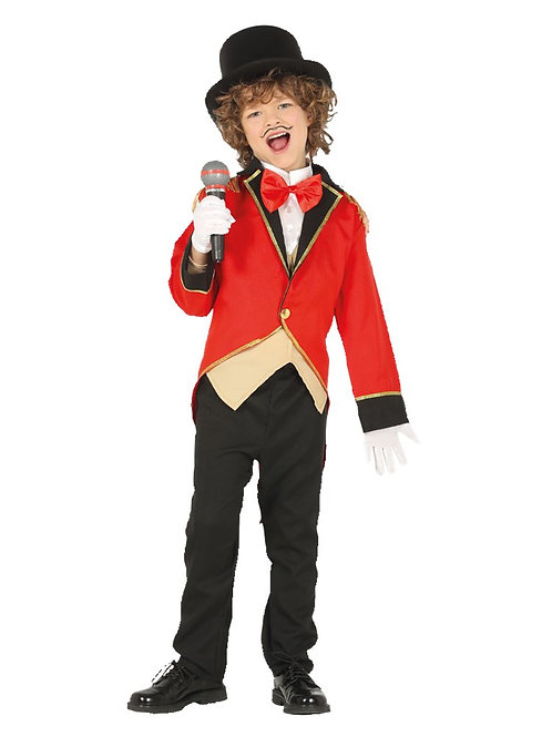 Ringmaster Costume 5-6 Years Old