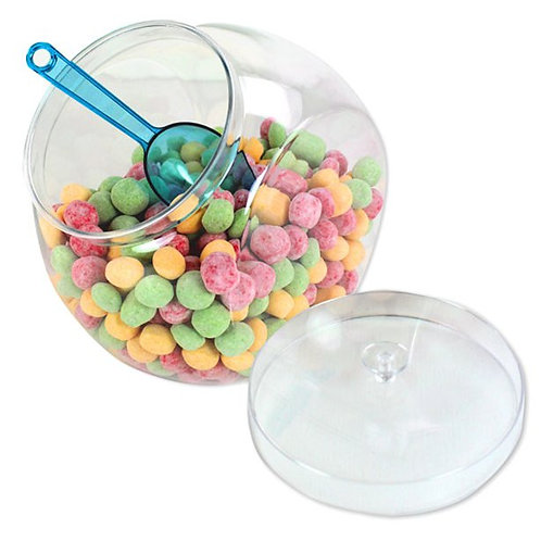 Plastic Sweet Jar with Lid