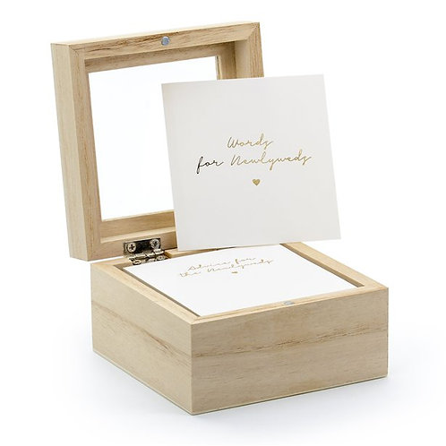 Guest book - Wedding Advice Box