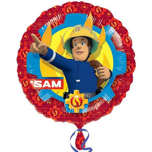 Fireman Sam Foil Party Helium Balloon