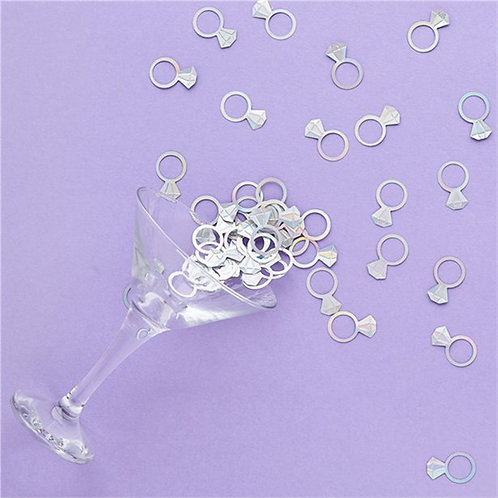 Diamond Ring Table Confetti