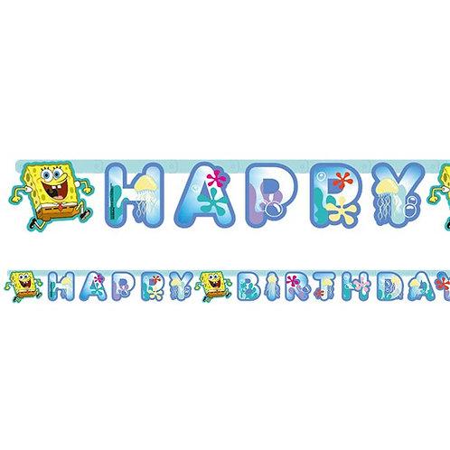 Spongebob Letter Banner