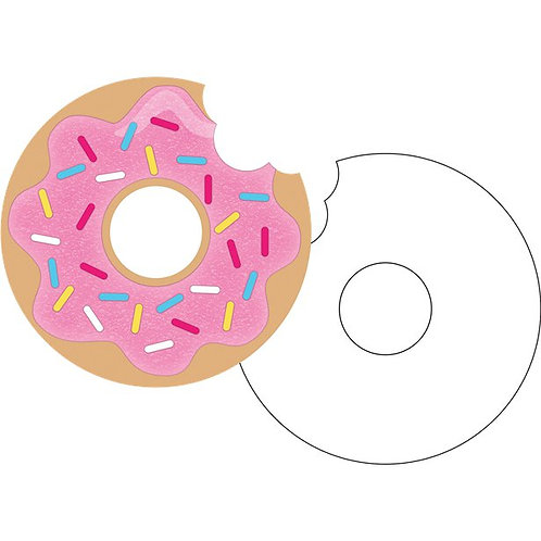 Doughnut Time Party Invitations
